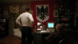 Image de la décoration de la chambre de Derek Vinyard, American History X