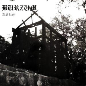 Pochette de l'album Aske du groupe Norvegien Burzum