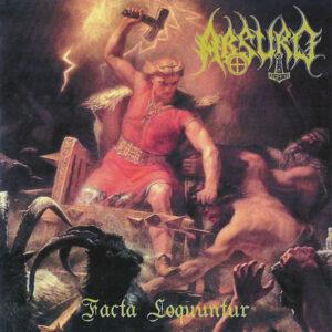 Pochette de l'album Factu Loquuntur du groupe Allemand Absurd