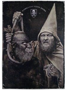 Poster promotionnel de l'album Peste Noire Split Peste Noire de Peste Noire