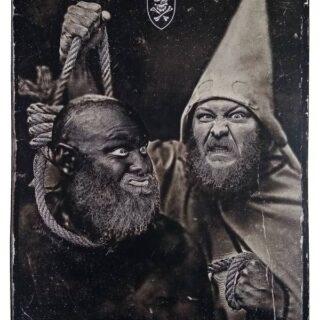 Poster promotionel de l'album Peste Noire Split Peste Noire de Peste Noire