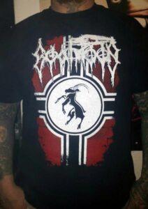 T-shirt du groupe finlandais Goatmoon